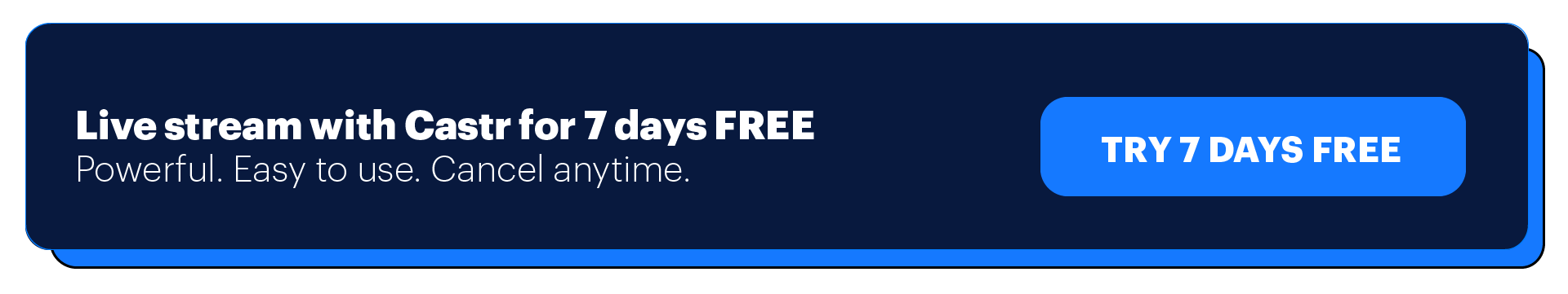 Try Castr for free