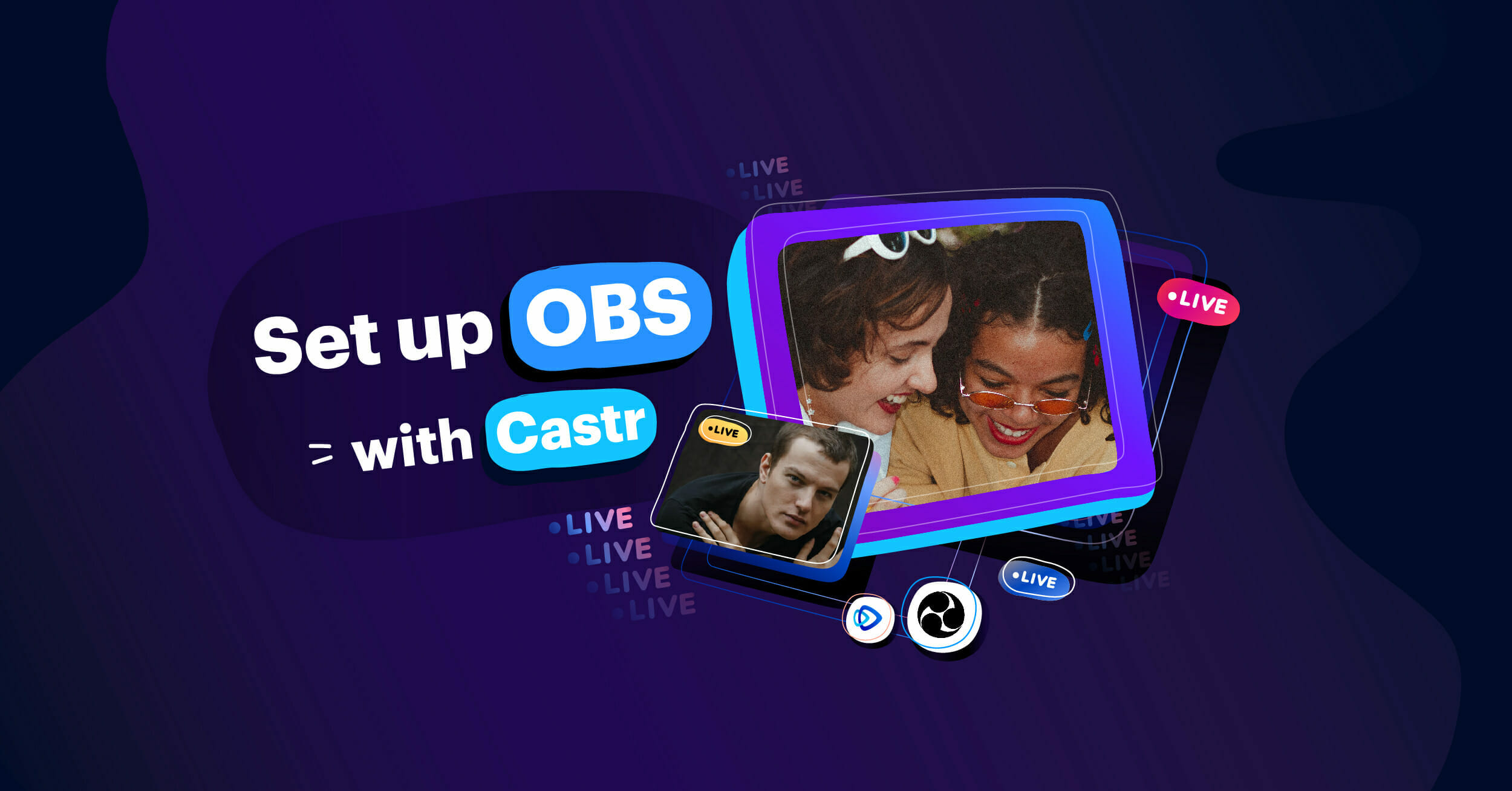 How to Set up OBS When Streaming With Castr-01