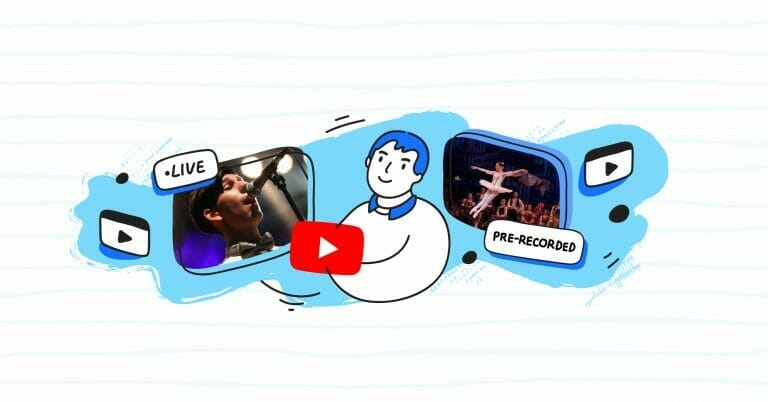How to stream pre-recorded videos to YouTube from Castr