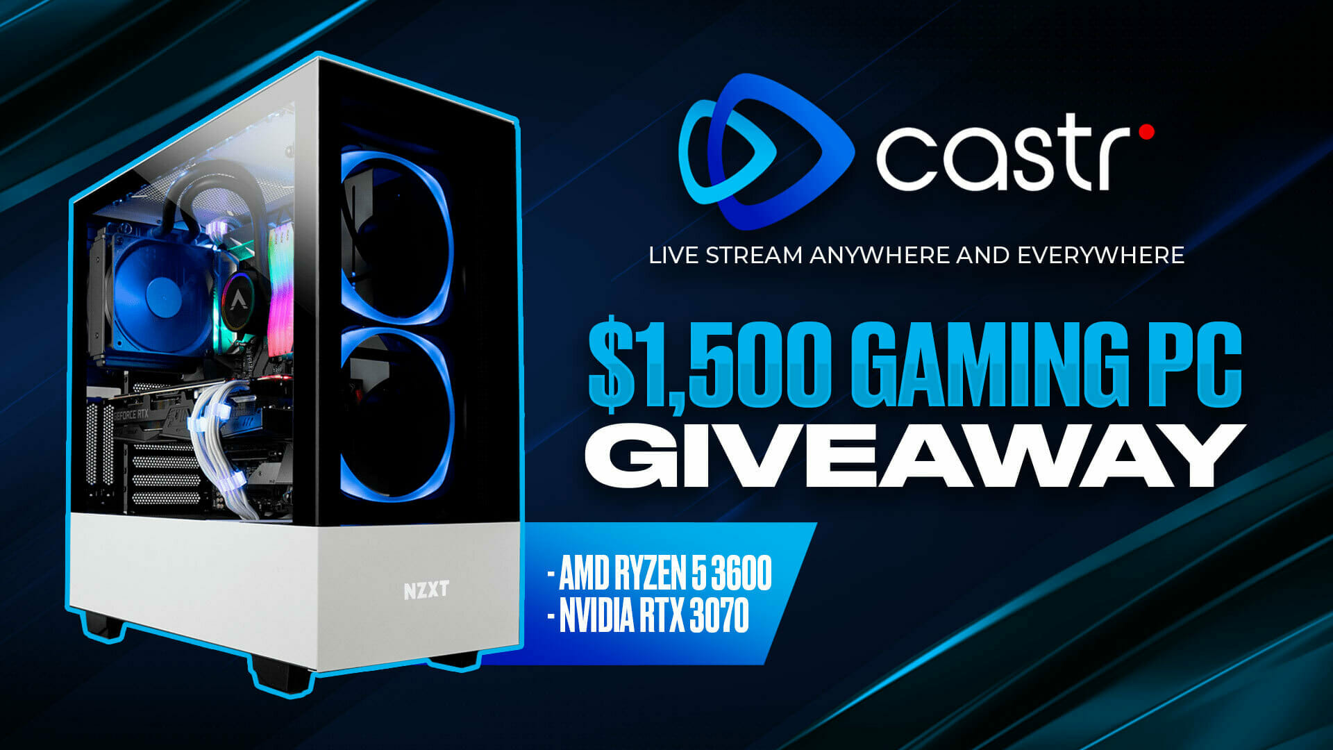 Castr 2021 New Year Giveaway: $1,500 Gaming PC. Enter Now! - Castr's Blog