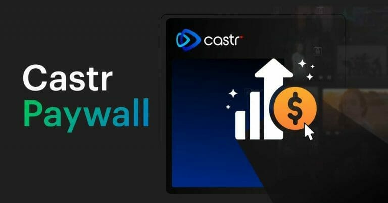 Introducing Castr Paywall | The Easiest Way to Earn Money with Live Streaming