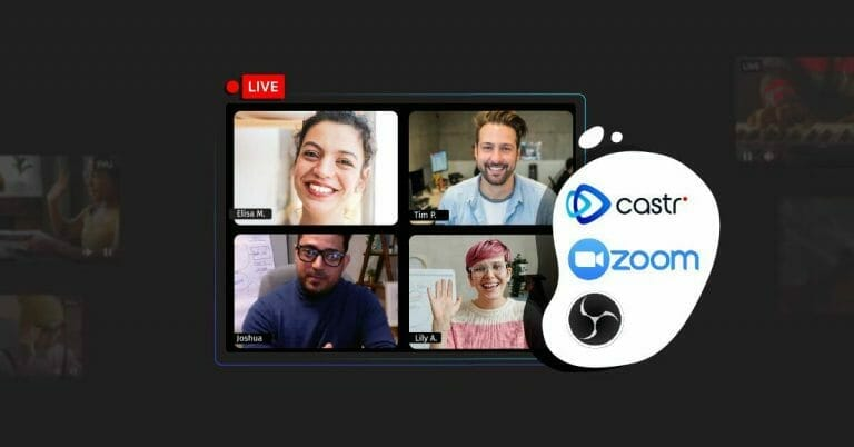 How to livestream with multiple hosts using Zoom, OBS, and Castr